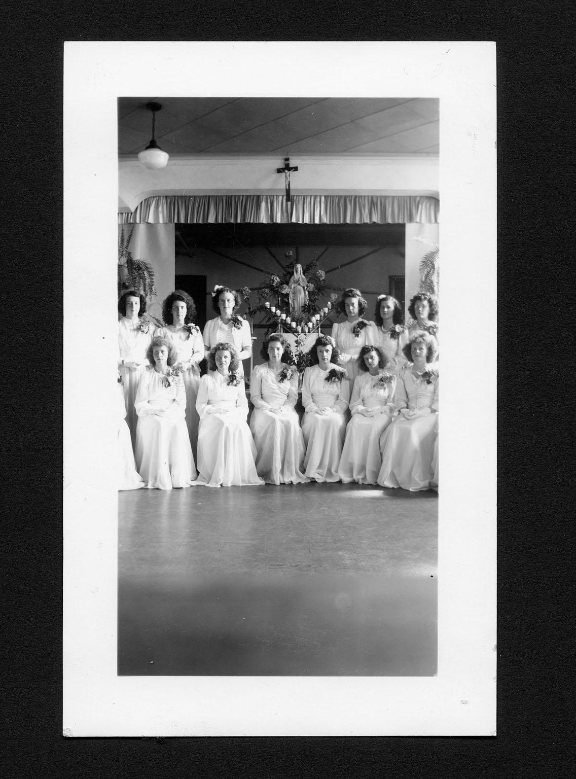 Chapeau, Québec Normal School graduates 1945