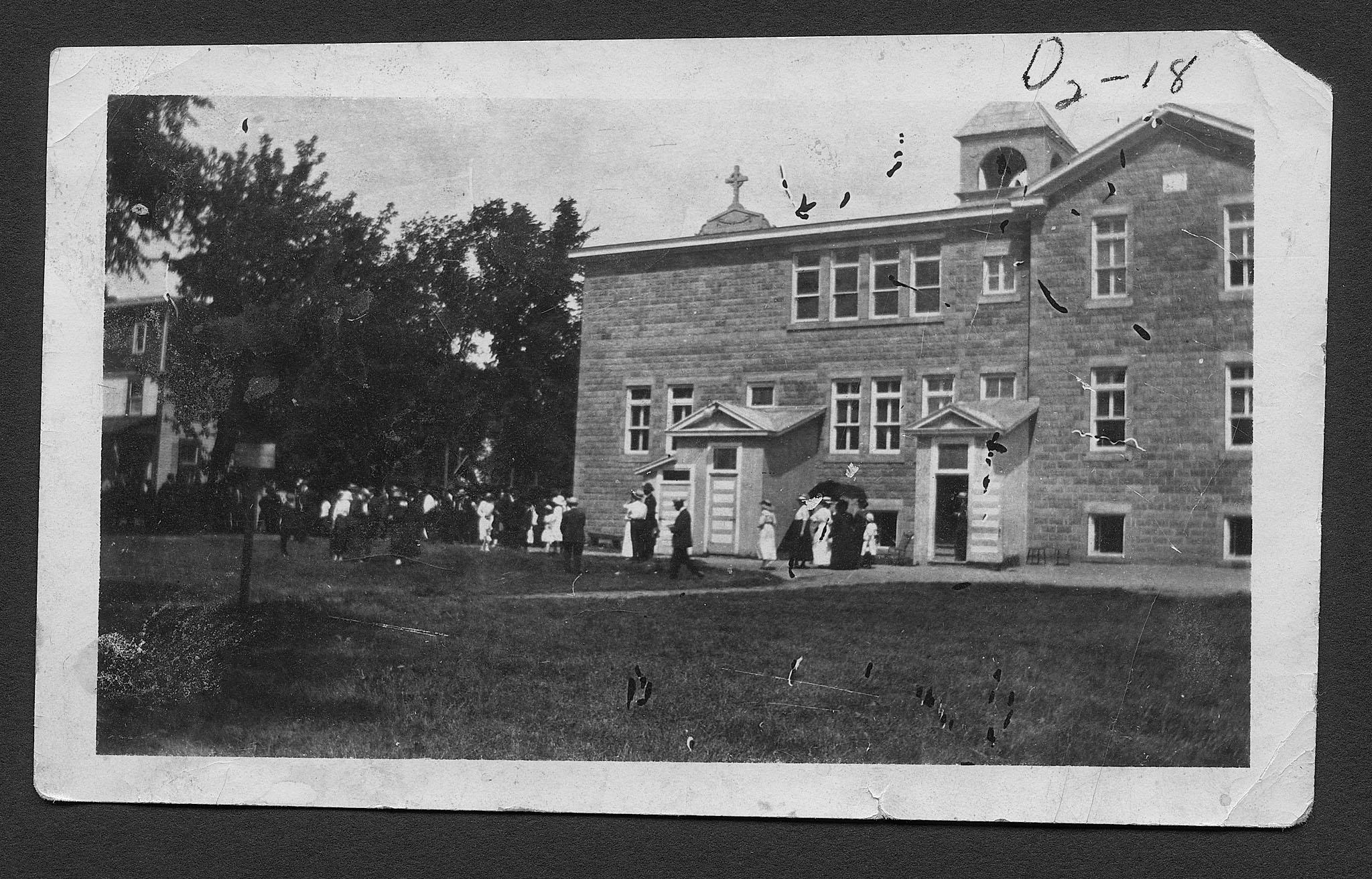 St. Michael's School, Douglas, Ontario 1910