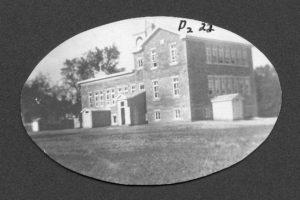 Douglas, Ontario school and convent 1910