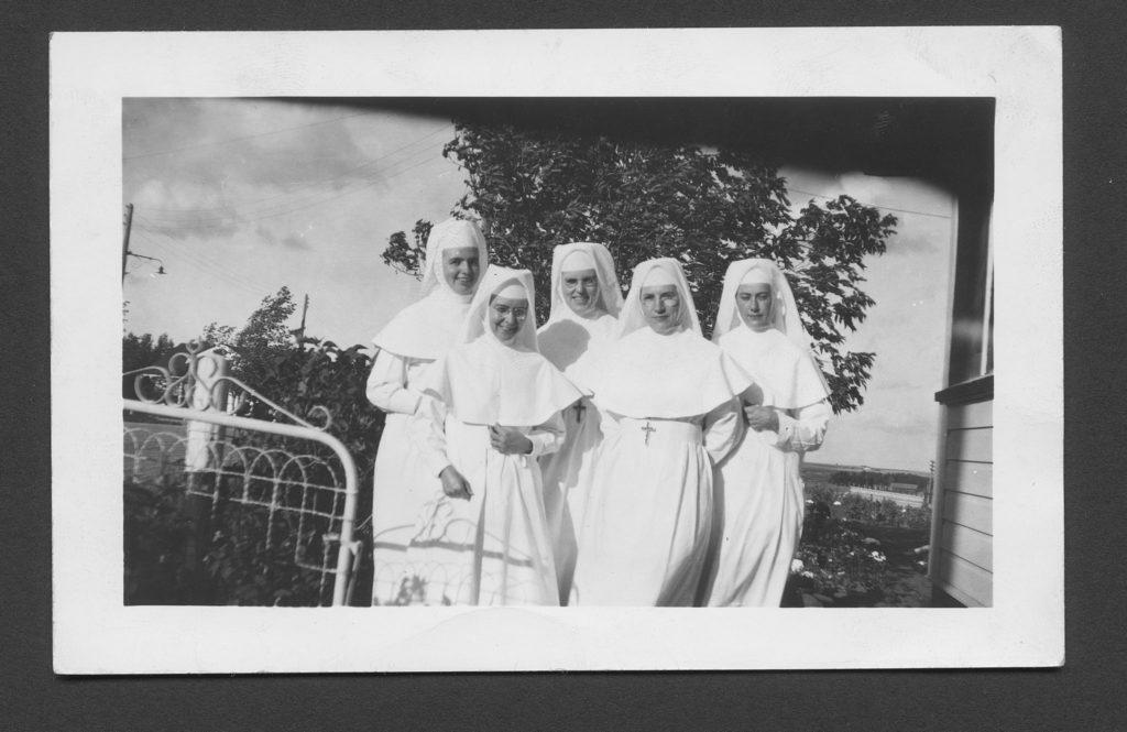 Sisters in Radville, Saskatchewan