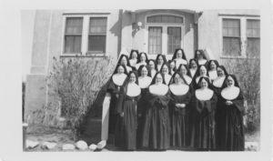 Sisters in Wainwright, Alberta