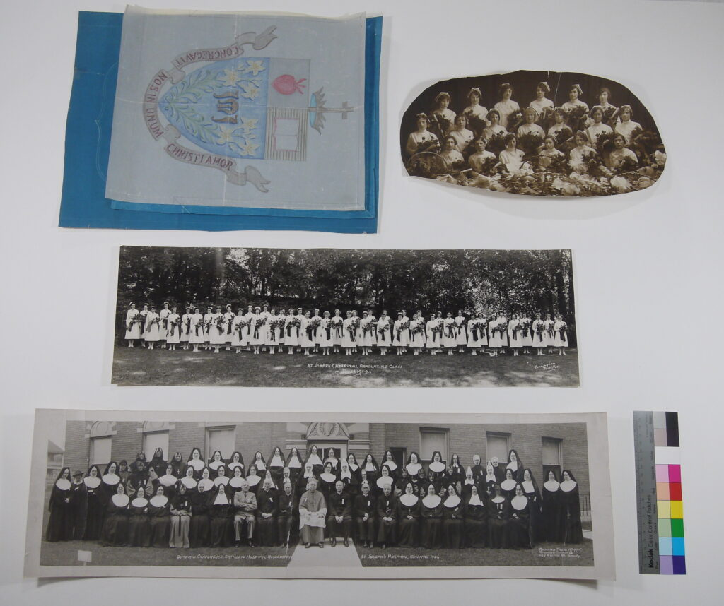 Graphic materials after conservation treatment