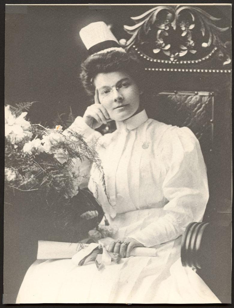 Lilly Burns graduation class 1907