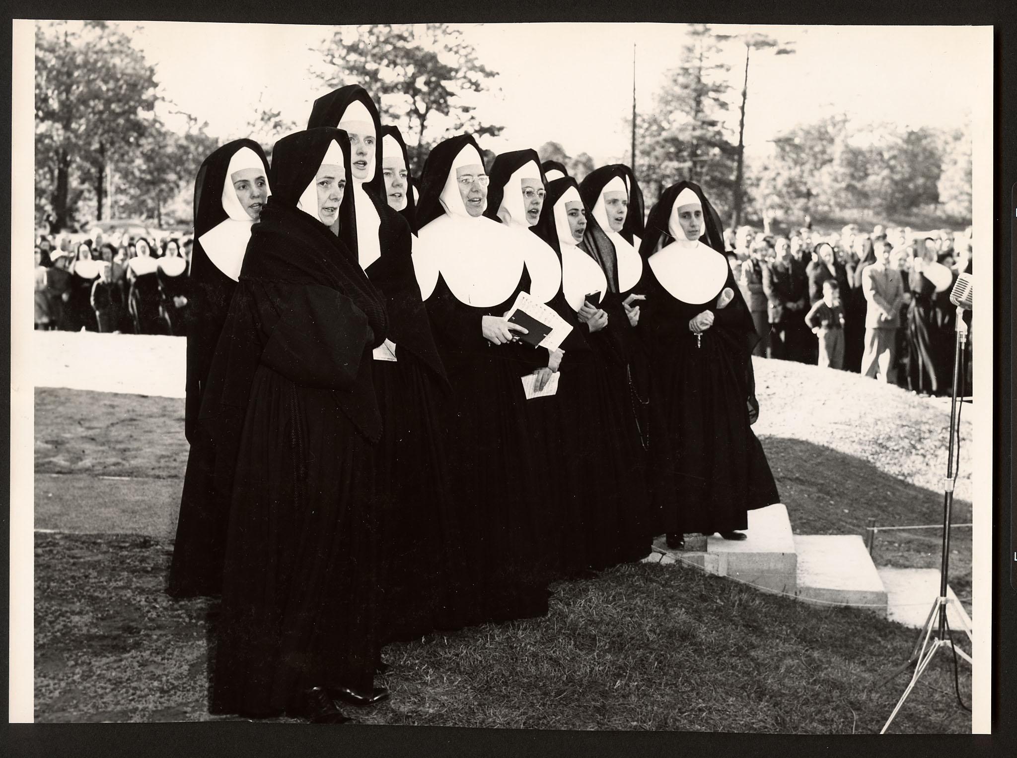 Sisters at official opening, Dundas, Ontario