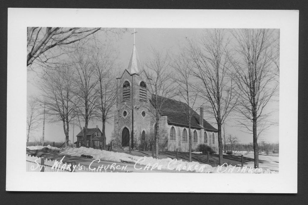 St Mary's Church, Chippewas of Nawash Unceded First Nation (Cape Croker)