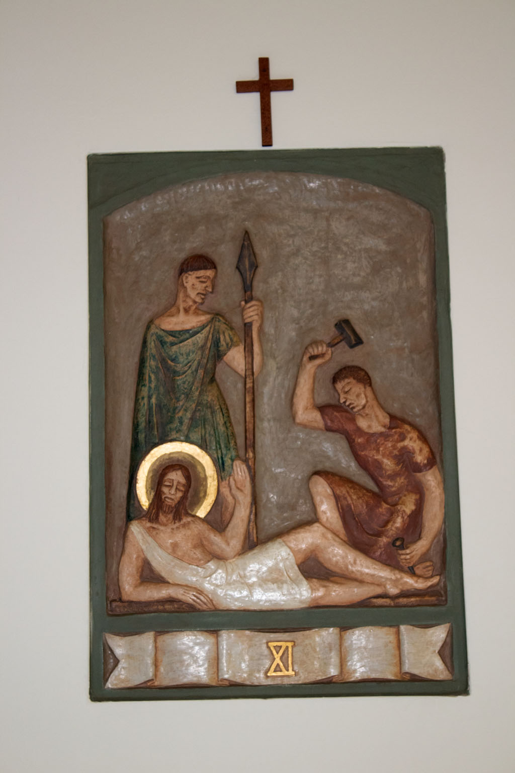 Eleventh Station of the cross by Dora de Pédery Hunt