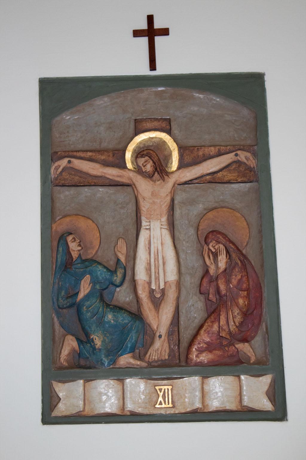 Twelfth Station of the cross by Dora de Pédery Hunt