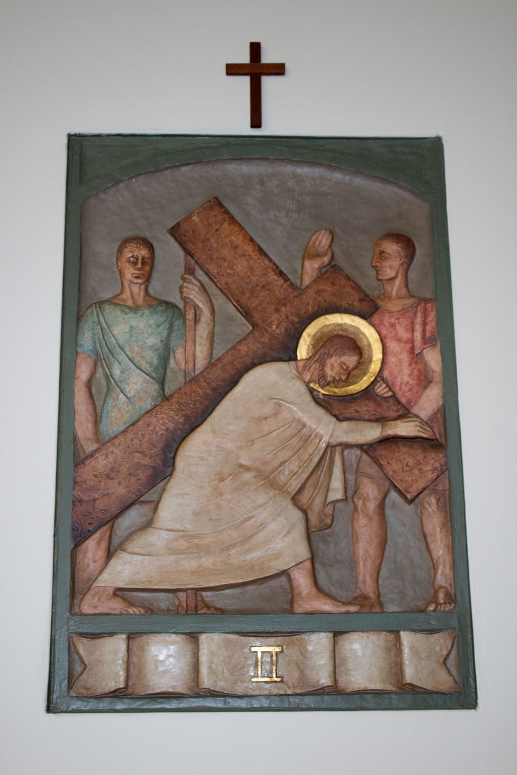 Second Station of the cross by Dora de Pédery Hunt