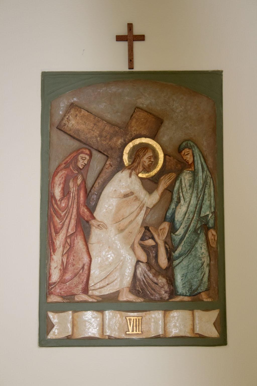 Eighth Station of the cross by Dora de Pédery Hunt