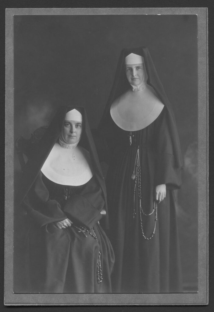 Sister Veronica Brophy and Sister Immaculata Brophy