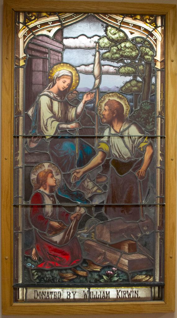 Holy Family window