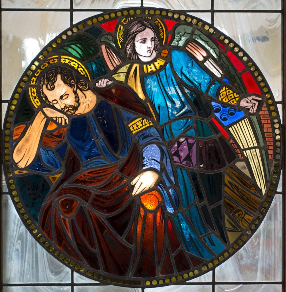 Dream of St. Joseph window