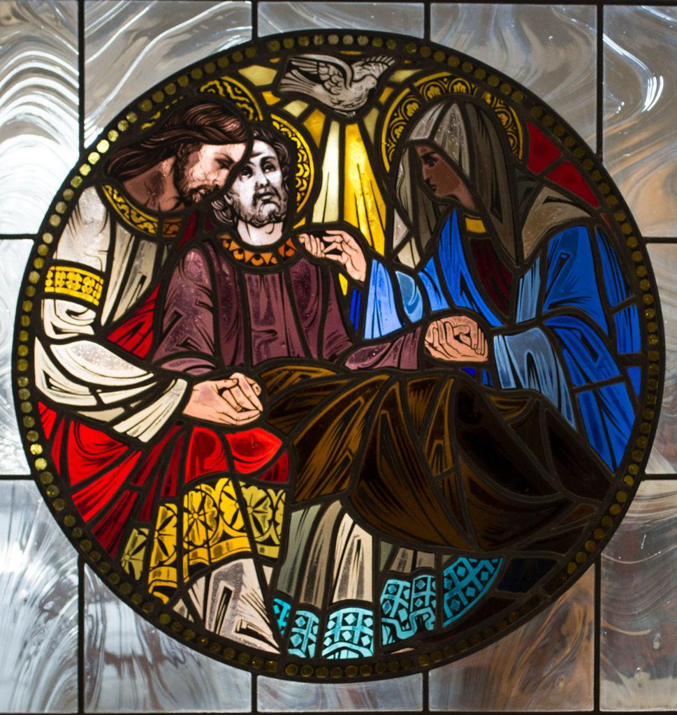 Death of St. Joseph window