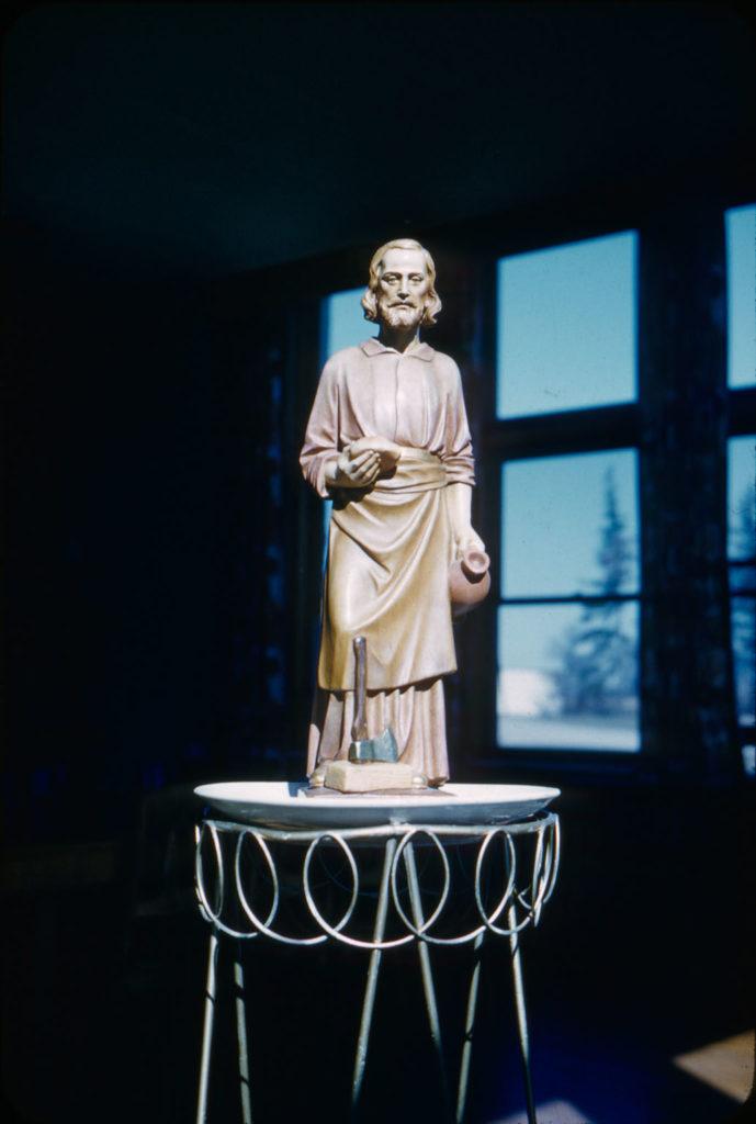 St. Joseph statue, Mount St. Joseph Motherhouse, London, Ontario
